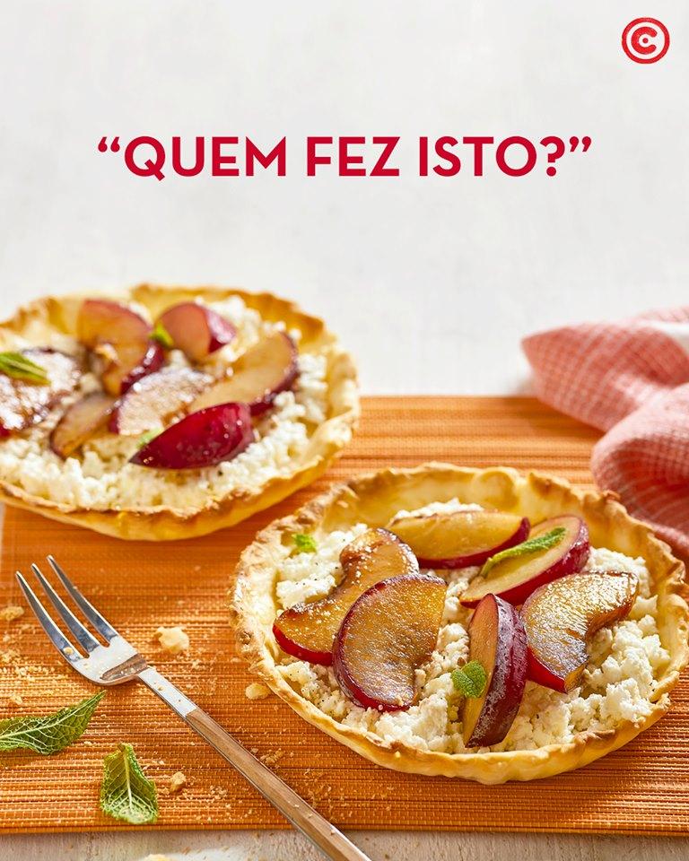 Tartelete Pêssego